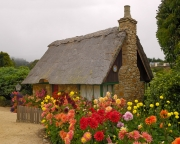 Thatched Roof House - Carmel by the Sea