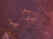 The Hunt - Petroglyphs - Canyon de Chelly