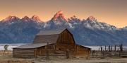 Grand Teton Sunrise Glow