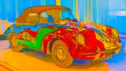 Psychedelic - Porsche Type 356C Cabriolet - Janis Joplin