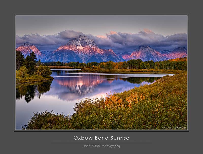 Oxbow Bend Sunrise
