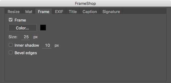 Frame-Panel