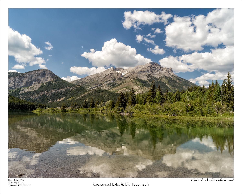 Crowsnest Lake & Mt. Tecumseh