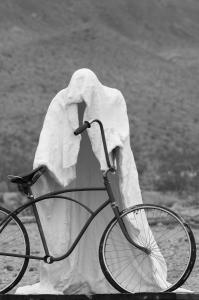 Ghost Biker - Rhyolite, NV