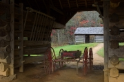 Buggy at Tipton Place - Cades Cove