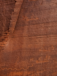 Kokopelli Petroglyphs - Mounment Valley