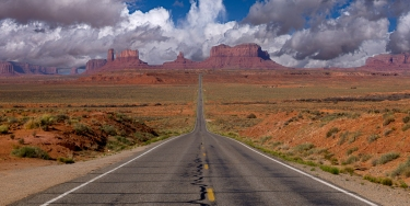Road to Monument Valley (Composite)