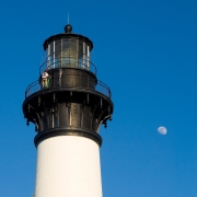 Repairing the Bodie Island Lighthouse