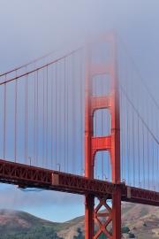 Bridge Tower in Fog