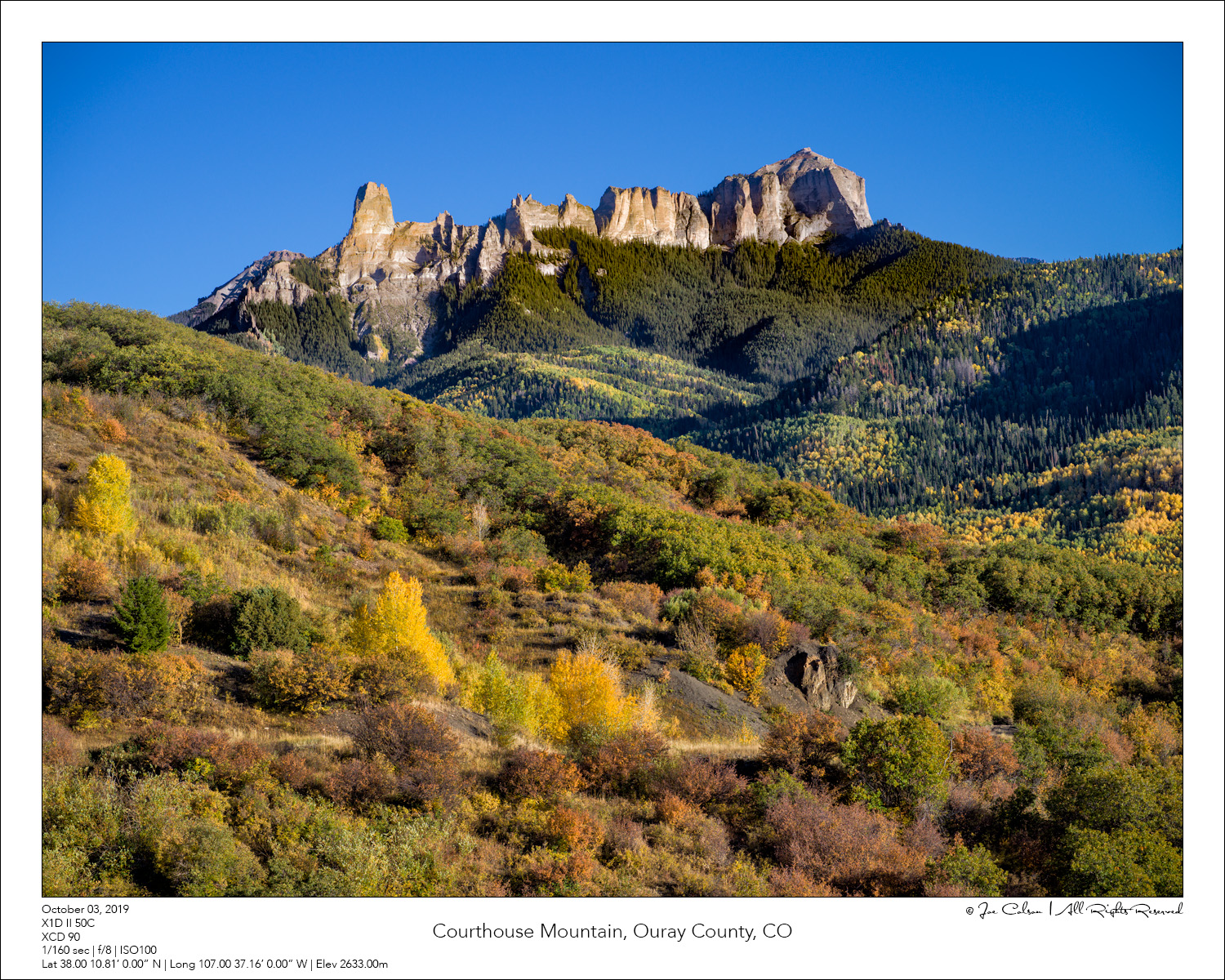 Courthouse Mountain, Ouray County, CO