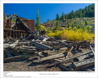 Ghost Town, Alta Lakes, CO