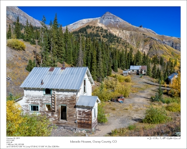 Idarado Houses, Ouray County, CO