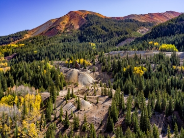 Yankee Girl Mine & Red Mountain, Ouray County, CO