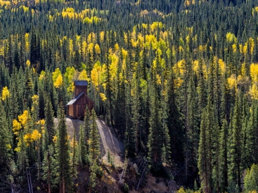 Abandoned Mine, Ouray County, CO
