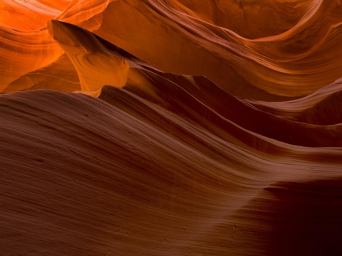 Swirls - Lower Antelope Canyon