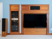 Entertainment center surround